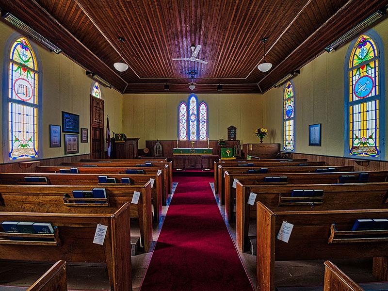St. James Anglican Church Roseneath Interior